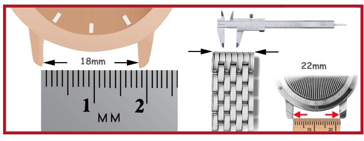 forniture orologi cinturini in metallo per orologi da polso Birkenstock attrezzi orologi Bergeon